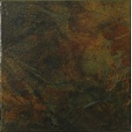 "Marazzi Imperial Slate: Black/Rust Mix 6"" x 6"" Ceramic Tile UE3P"