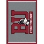 "Milliken College Team Spirit (NCAA) Boston 74194 Spirit Rectangle (4000019435) 2'8"" x 3'10"" Area Rug"