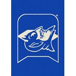 "Milliken College Team Spirit (NCAA) Duke 79544 Spirit Rectangle (4000019383) 7'8"" x 10'9"" Area Rug"