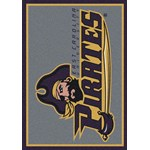 "Milliken College Team Spirit (NCAA) East Carolina 79803 Spirit Rectangle (4000019156) 3'10"" x 5'4"" Area Rug"