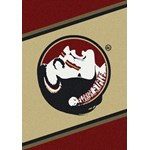 "Milliken College Team Spirit (NCAA) Florida State 74208 Spirit Rectangle (4000019441) 2'8"" x 3'10"" Area Rug"