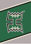 Milliken College Team Spirit (NCAA) Hawaii 45286 Spirit Rectangle (4000019296) 7'8