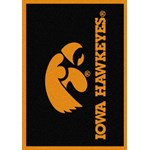 "Milliken College Team Spirit (NCAA) Iowa 74218 Spirit Rectangle (4000019090) 3'10"" x 5'4"" Area Rug"