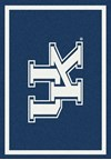 Milliken College Team Spirit (NCAA) Kentucky 74375 Spirit Rectangle (4000019462) 2'8
