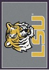 Milliken College Team Spirit (NCAA) LSU 45280 Spirit Rectangle (4000019050) 3'10