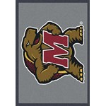"Milliken College Team Spirit (NCAA) Maryland 74387 Spirit Rectangle (4000019470) 2'8"" x 3'10"" Area Rug"