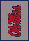 Milliken College Team Spirit (NCAA) Mississippi 45488 Spirit Rectangle (4000019412) 2'8