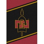 "Milliken College Team Spirit (NCAA) San Diego State 44738 Spirit Rectangle (4000019166) 5'4"" x 7'8"" Area Rug"