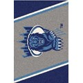 Milliken College Team Spirit (NCAA-SPT) Columbia 00410 Spirit Rectangle (4000054553) 2