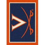 "Milliken College Team Spirit (NCAA-SPT) Virginia 79590 Spirit Rectangle (4000054609) 2'8"" x 3'10"" Area Rug"