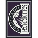 "Milliken MLB Team Spirit (MLB-S) Colorado Rockies 01005 Spirit Rectangle (4000019515) 5'4"" x 7'8"" Area Rug"