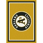 "Milliken MLB Team Spirit (MLB-S) Oakland Athletics 01026 Spirit Rectangle (4000019686) 10'9"" x 13'2"" Area Rug"