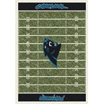 "Milliken NFL Team Home Field (NFL-F) Carolina Panthers 01015 Home Field Rectangle (4000019789) 3'10"" x 5'4"" Area Rug"