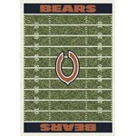 "Milliken NFL Team Home Field (NFL-F) Chicago Bears 01018 Home Field Rectangle (4000019790) 3'10"" x 5'4"" Area Rug"