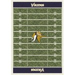 "Milliken NFL Team Home Field (NFL-F) Minnesota Vikings 01054 Home Field Rectangle (4000019834) 5'4"" x 7'8"" Area Rug"