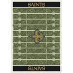 "Milliken NFL Team Home Field (NFL-F) New Orleans Saints 01060 Home Field Rectangle (4000019804) 3'10"" x 5'4"" Area Rug"