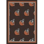 "Milliken NFL Team Repeat (NFL-R) Cleveland Browns 09023 Repeat Rectangle (4000094810) 3'10"" x 5'4"" Area Rug"