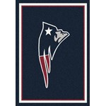 "Milliken NFL Team Spirit (NFL-S) New England Patriots 00956 Spirit Rectangle (4000095955) 7'8"" x 10'9"" Area Rug"