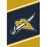 "Milliken NHL Team Spirit (NHL-S) Buffalo Sabres 01031 Spirit Rectangle (4000020334) 5'4"" x 7'8"" Area Rug"