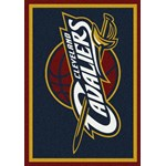 "Milliken NBA Team Spirit (NBA-S) Cleveland Cavaliers 01005 Spirit Rectangle (4000052864) 2'8"" x 3'10"" Area Rug"