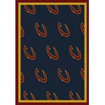 "Milliken NBA Team Repeat (NBA-R) Cleveland Cavaliers 01105 Repeat Rectangle (4000052794) 2'1"" x 7'8"" Area Rug"