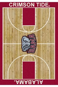Milliken College Home Court (NCAA) Alabama 01010 Court Rectangle (4000018363) 5'4