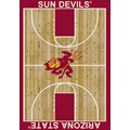Milliken College Home Court (NCAA) Arizona State 01014 Court Rectangle (4000018280) 3
