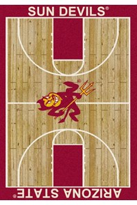 Milliken College Home Court (NCAA) Arizona State 01014 Court Rectangle (4000018450) 7'8