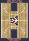 Milliken College Home Court (NCAA) Arizona 01012 Court Rectangle (4000018449) 7'8