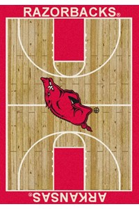 Milliken College Home Court (NCAA) Arkansas 01020 Court Rectangle (4000018451) 7'8