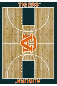 Milliken College Home Court (NCAA) Auburn 01030 Court Rectangle (4000018367) 5'4