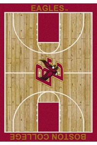Milliken College Home Court (NCAA) Boston College 01043 Court Rectangle (4000018368) 5'4