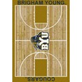 Milliken College Home Court (NCAA) Brigham Young 01048 Court Rectangle (4000018369) 5