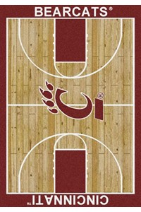 Milliken College Home Court (NCAA) Cincinnati 01049 Court Rectangle (4000018455) 7'8