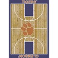 Milliken College Home Court (NCAA) Clemson 01050 Court Rectangle (4000018286) 3