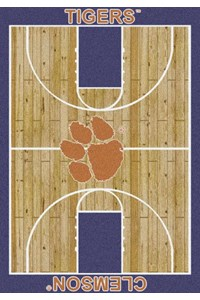 Milliken College Home Court (NCAA) Clemson 01050 Court Rectangle (4000018456) 7'8