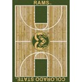 Milliken College Home Court (NCAA) Colorado State 01065 Court Rectangle (4000018288) 3