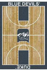 Milliken College Home Court (NCAA) Duke 01512 Court Rectangle (4000018529) 7'8