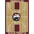 Milliken College Home Court (NCAA) Florida State 01514 Court Rectangle (4000018360) 3