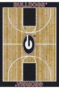 Milliken College Home Court (NCAA) Georgia 01080 Court Rectangle (4000018290) 3'10