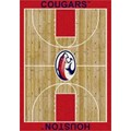 Milliken College Home Court (NCAA) Houston 00387 Court Rectangle (4000018294) 3