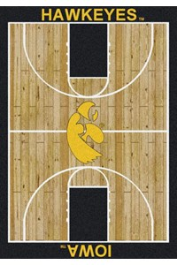 Milliken College Home Court (NCAA) Iowa 01110 Court Rectangle (4000018295) 3'10