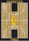 Milliken College Home Court (NCAA) Iowa 01110 Court Rectangle (4000018380) 5'4