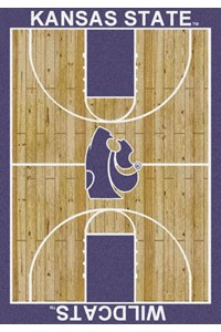 Milliken College Home Court (NCAA) Kansas State 01125 Court Rectangle (4000018385) 5'4