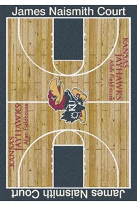 Milliken College Home Court (NCAA) Kansas 01120 Court Rectangle (4000018299) 3'10