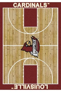 Milliken College Home Court (NCAA) Louisville 01150 Court Rectangle (4000018302) 3'10