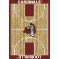 Milliken College Home Court (NCAA) Louisville 01150 Court Rectangle (4000018387) 5