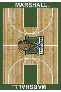 Milliken College Home Court (NCAA) Marshall 01153 Court Rectangle (4000018389) 5'4