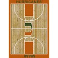 Milliken College Home Court (NCAA) Miami 01157 Court Rectangle (4000018476) 7