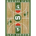 Milliken College Home Court (NCAA) Michigan State 01180 Court Rectangle (4000018480) 7